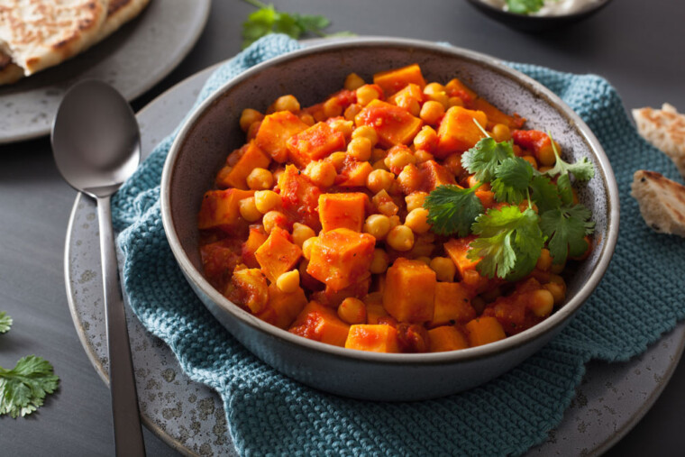 Authentic Indian vegetarian curries